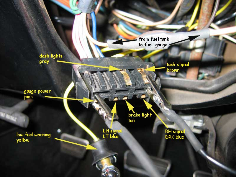 Tach wire 1967 camaro fac tach what powers it? what is this wire? team  at gsmportal.co
